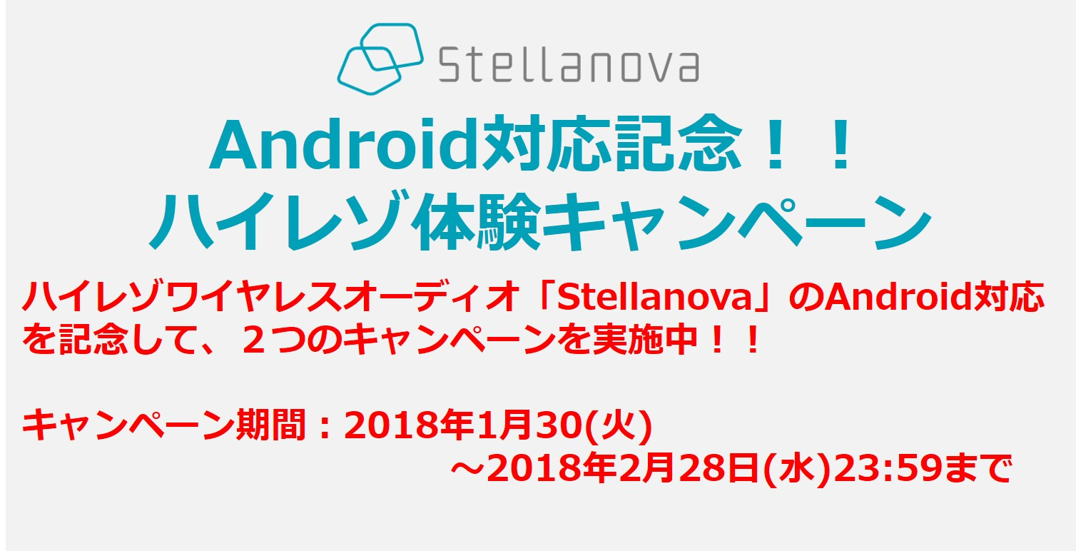Androidキャンペーン